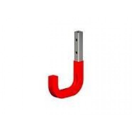 Galvanised Steel Wall Hook 80mm