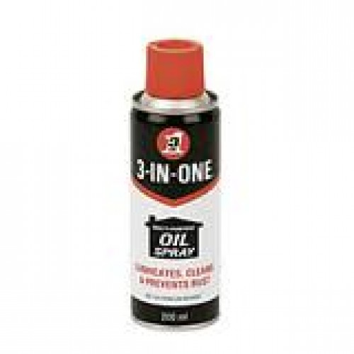 3 in 1 Oil Spray with PTFE 250ml