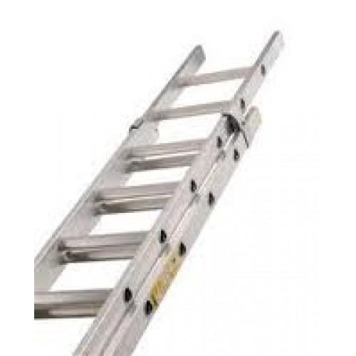 2 x 8ft Aluminium Extension Ladder